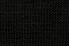 Black sequins. Background and structure of black sequins Stock Photo
