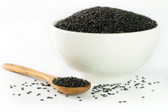 Black sesame Royalty Free Stock Images
