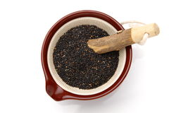 Black sesame seed Stock Photos