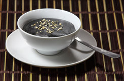 Black Sesame Soup Royalty Free Stock Photography