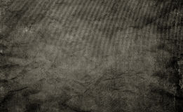 Black shabby paper texture. Stock Images