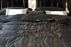 Black sheets Stock Photo