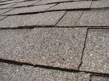 Black shingles Royalty Free Stock Photo