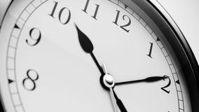 Black Shiny Clock. Close up Black Shiny Clock vector illustration