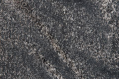 Black shiny fabric Royalty Free Stock Photography