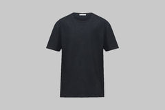 Black shirt. Isolated with clipping paths Royalty Free Stock Images