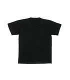 Black shirt isolated. Royalty Free Stock Photos