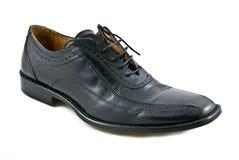 Black shoe. Isolated on white background Stock Images