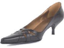 Black shoe Royalty Free Stock Photo