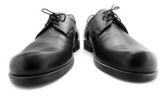 Black shoe Royalty Free Stock Photos
