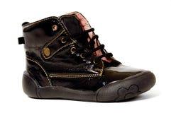 Black shoe stock photos