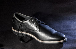 Black shoe - RAW format Stock Image