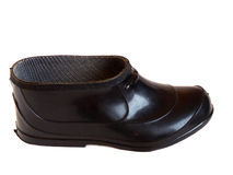 Black Shoe isolated Royalty Free Stock Photography