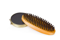 Black shoe polish Royalty Free Stock Image
