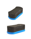 Black shoe polish sponge isolated Royalty Free Stock Photo