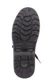 Black shoe sole. Royalty Free Stock Image
