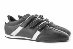 Black shoes Stock Photography