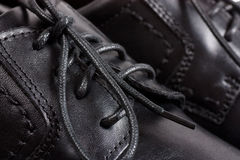 Black shoes royalty free stock images