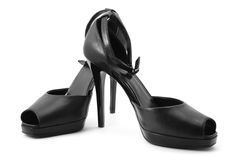 Black shoes Royalty Free Stock Photo