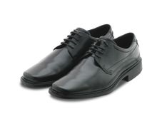 Black shoes. Stock Images