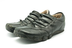 Black shoes Stock Image