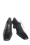 Black shoes Royalty Free Stock Image