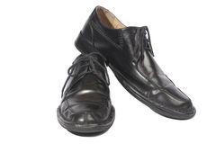 Black shoes, Royalty Free Stock Images