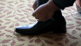 Black Shoes stock footage