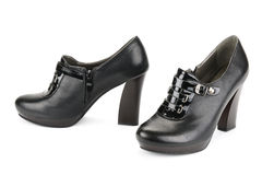 Black shoes Royalty Free Stock Photos