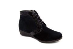 Black shoes woman Stock Image