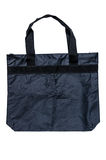 Black shopping bag Royalty Free Stock Photo