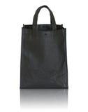 Black shopping bag Royalty Free Stock Photography