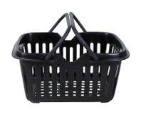 Black Shopping Basket Royalty Free Stock Images