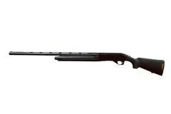 Black shotgun. Isolated on white Royalty Free Stock Photo