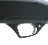 Black shotgun trigger Royalty Free Stock Images