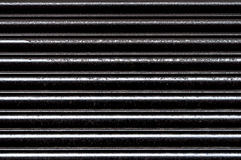Black Shutters (3). Close-Up Closed Black Shiny Shutters Stock Images