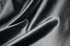 Black silk Royalty Free Stock Images