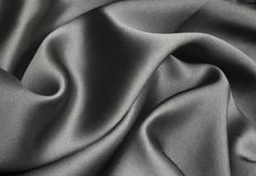 Black silk stock image