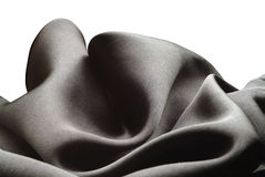 Black silk Stock Photography
