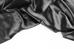 Black silk Stock Image