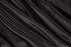 Black silk texture Royalty Free Stock Images