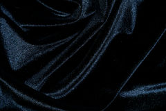 Black silk velvet background Royalty Free Stock Photography