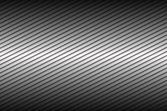 Black and silver abstract background with diagonal lines Royalty Free Stock Photo