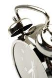 Black and silver alarm clock Royalty Free Stock Photo