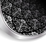 Black and silver background Stock Photos