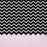 Black and silver chevron design Royalty Free Stock Photography