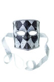 Black and silver mask Stock Photos