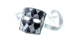 Black and silver mask Stock Photography