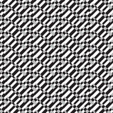 Black and silver shade diagonal weave pattern background Royalty Free Stock Photos