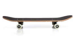 Black skate board on a white background Royalty Free Stock Photos